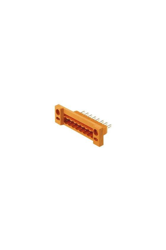 1599270000 Conector para placa c.i., Conector macho, 5.08 mm, Número de polos: 16, 180°, SLDF 5.08 L/F 16 SN OR