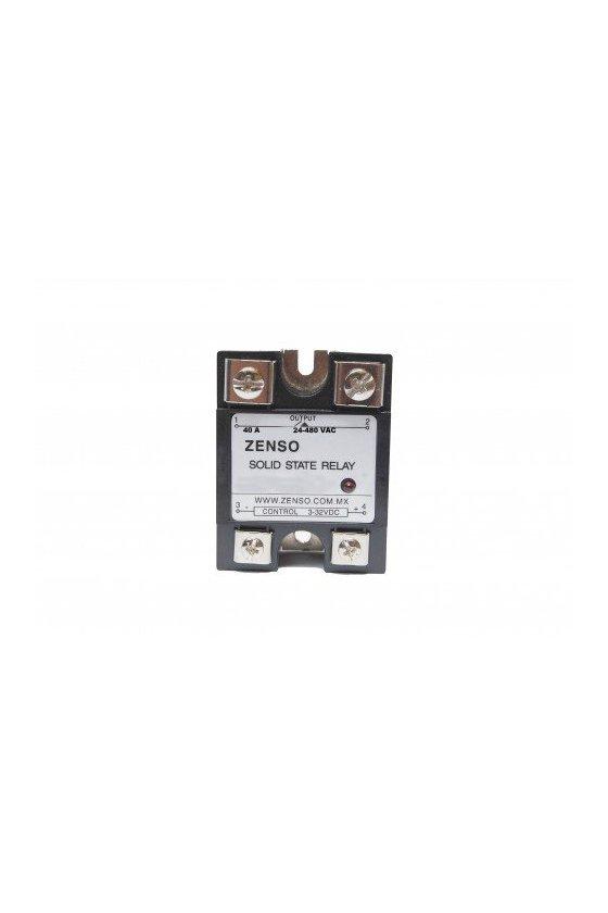 ZRS1DA4840 relevador estado solido 40amp 3-32vdc salida 24-480vac