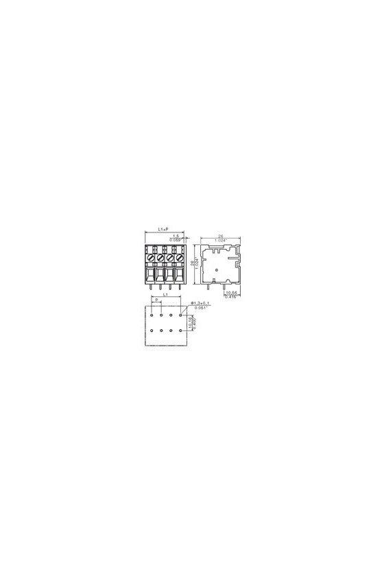 1650300000 Bornes para circuito impreso, 6.35 mm, Número de polos: 3, TOP4GS3/90 6.35 OR