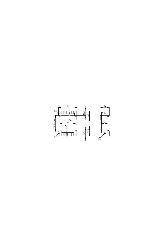 1650810000 HDC - Conector, Macho, 250 V, 10 A, Número de polos: 25, Conexión crimpada, Grupo: 5, HDC HD 25 MC