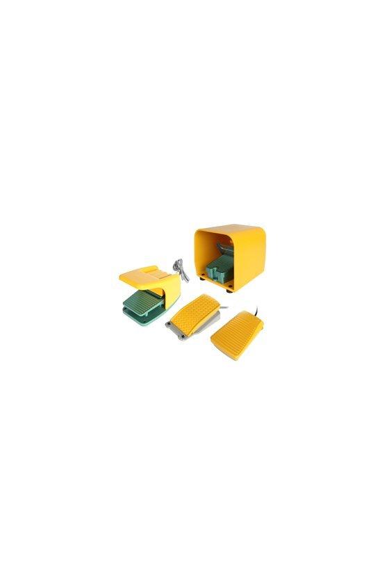 HY101 Interruptor de pedal plastico 1 NA 10 amp 250 vca 62x100x31 mm