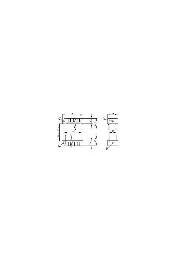 1651310000 HDC - Conector, Macho, 830 V, 20 A, Número de polos: 5, Conexión brida-tornillo, Grupo: 4, HDC HVE 3+2 MS