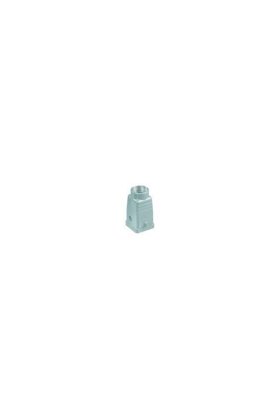 1652470000 HDC - cajas, Tipo de protección: IP65, Entrada del cable parte superior, Caja de conector, HDC 04A TOLU 1PG11G
