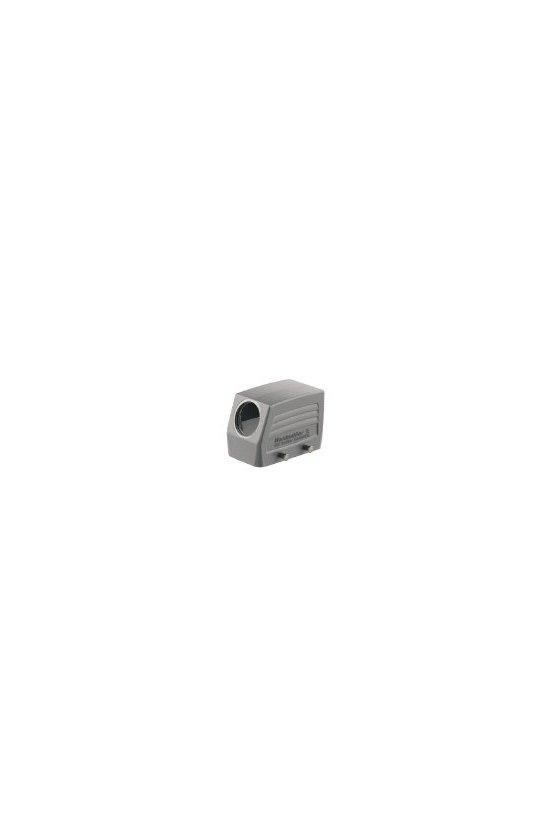 1654090000 cajas, Grupo: 4, Tipo de protección: IP65, Entrada de cable, lateral, Caja de conector, HDC 10B TSBU 1PG21G