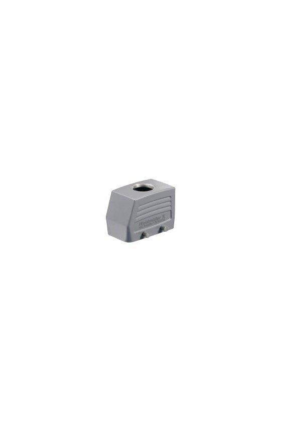 1654240000 cajas, Grupo: 4, Tipo de protección: IP65, Entrada del cable parte superior, Caja de conector, HDC 10B TOBU 1PG21G