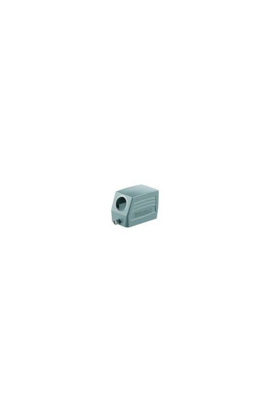 1655210000 cajas, Grupo: 4, Tipo de protección: IP65, Entrada de cable, lateral, Caja de conector, HDC 10B TSLU 1PG16G