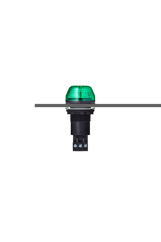 800506405  ibs Indicador traspanel m22 led luz fija/ intermitente