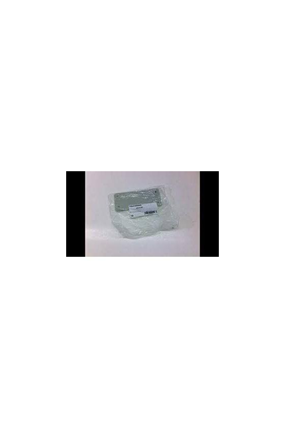 1664970000 Conectores industriales, Accesorios, Placa de cierre, Grupo: 8, Plástico, gris, ABD-8-GR