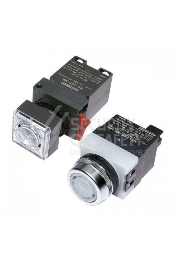 HY256MA Alarma 3 tonos con led 100-240vca 25mm