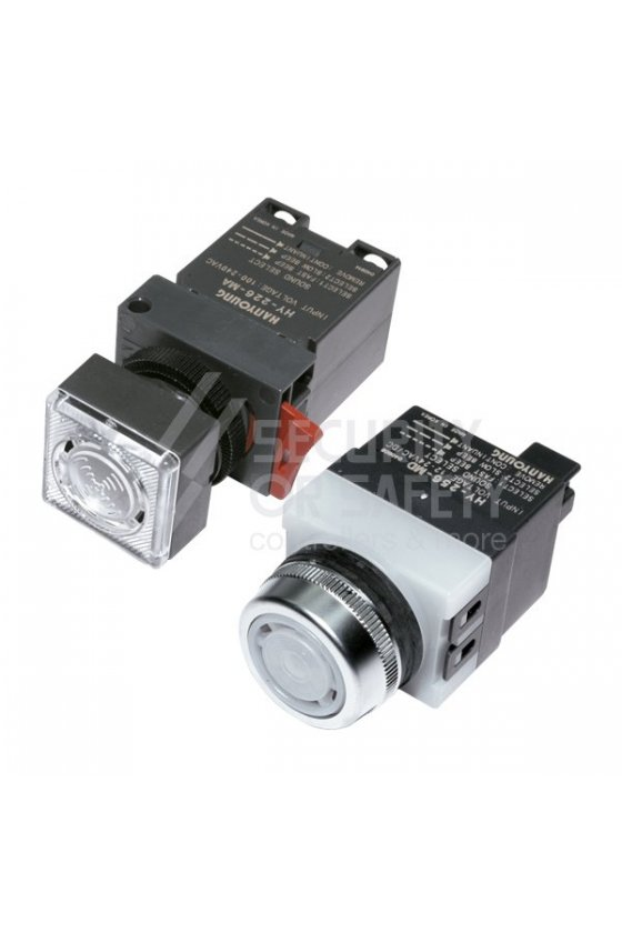 HY256MA Alarma 3 tonos con led 100-240vca 25mm