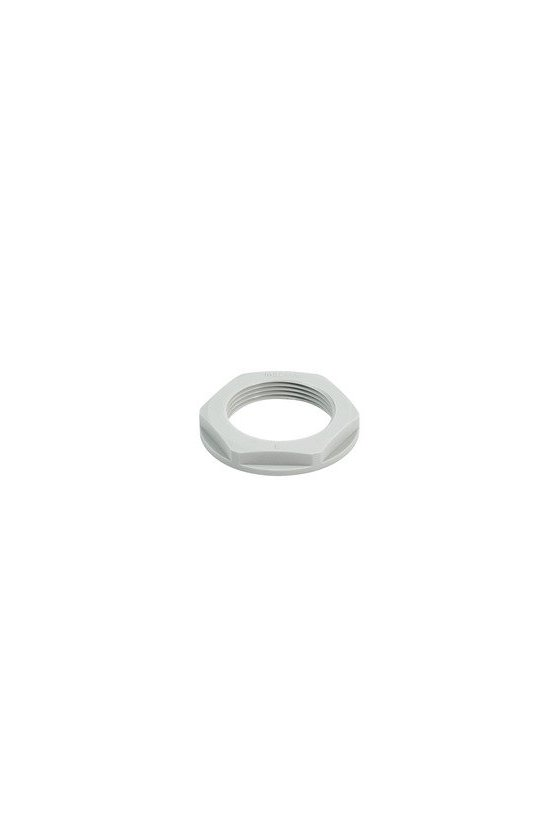 1697460000 SKMU PA (contratuerca de plástico), Contratuerca, PG 11, 5 mm, SKMU PG11-K GR PG 11 RANGO 5.0