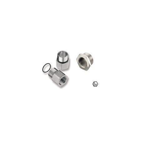 1738120000 ADAP (adaptador, extensiones y reducciones), Adaptador, M 32 ,M 40, IP54, laton, niquelado, ADAP EX M32-M40