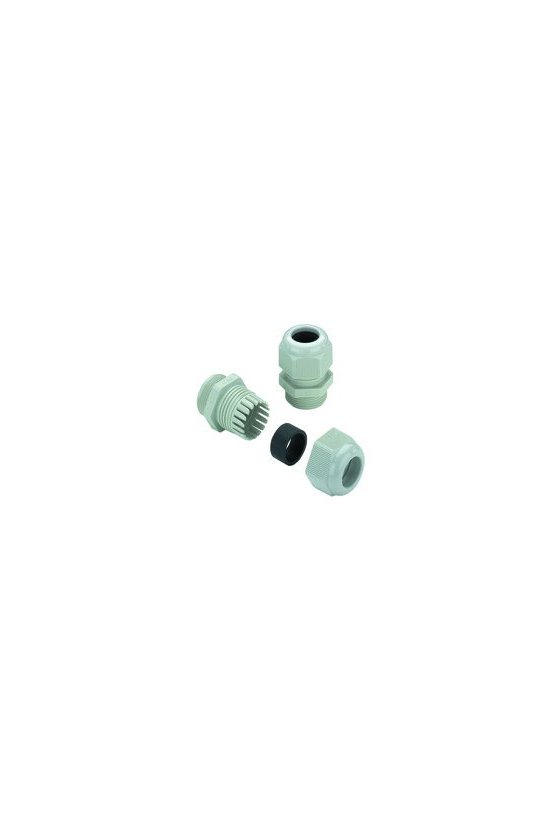 1772280000 Prensaestopas, M 12, 8 mm, IP67, IP68 - 5 bar (30 min), Poliamida 6, VG M 12 - K 68 M12 X 1.5