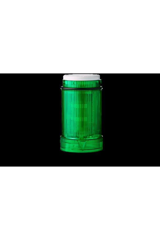 902006900 zll ecomodul40 lámpara luz fija sin foco, color verde hasta 250 v ac/dc