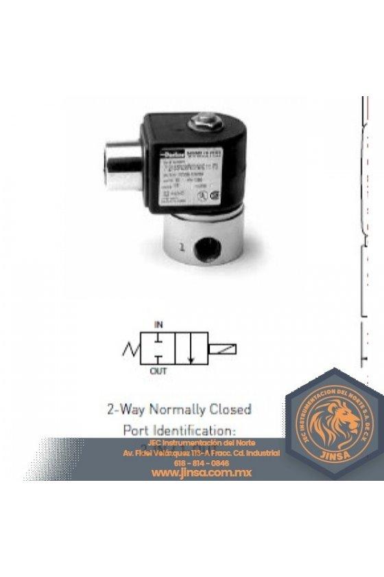 71215SN2QV00 VALVULA 1/4 NC   ORIF 5/32   0-110 PSI   185 GRAD F SS  70