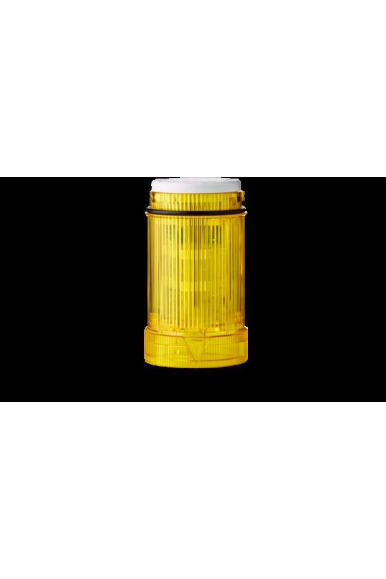 902007900 zll ecomodul40 lámpara luz fija sin foco, color amarillo hasta 250 v ac/dc