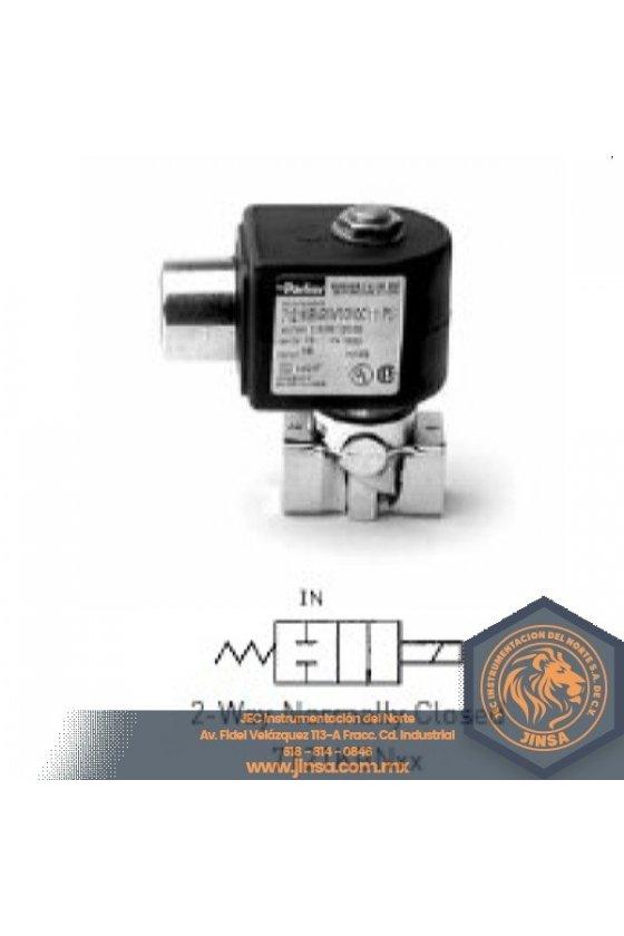 7121KBN1LR00 VALVULA 1/8 NC   ORIF 3/32   0-320 PSI   210 GRAD F   702N
