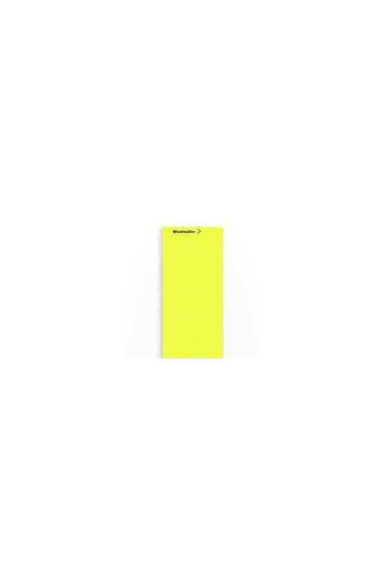 1882910000 LaserMark, Señalizadores de dispositivos, 6 x 12 mm, amarillo, LM MT300 12/6 GE