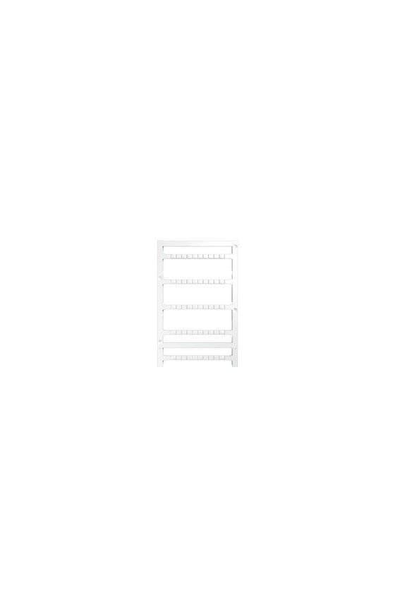 1907530000 MultiFit, Terminal marker, 4 x 5.2 mm, Paso en mm (P): 5.20 Phoenix, blanco, MF 4/5.2 MC NEUTRAL