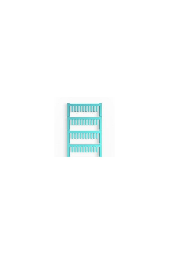 1919270000 SlimFix, Señalizadores para cables y conductores, 1 - 1.3 mm, 12 x 3.2 mm, azul, SF 00/12 NEUTRAL BL V2