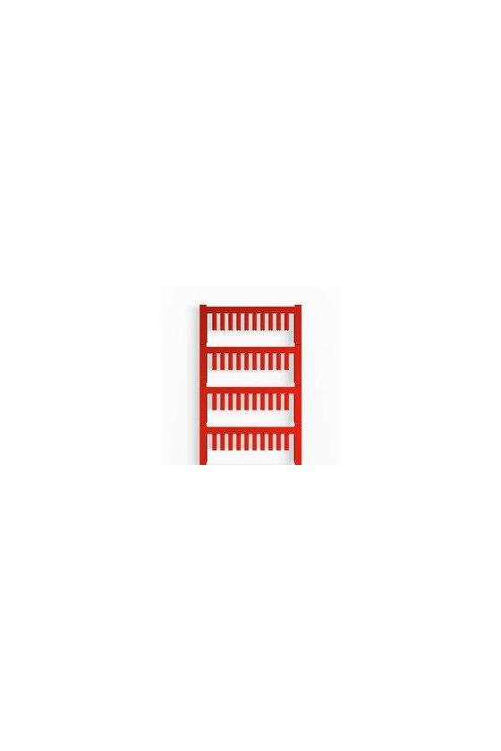 1919280000 SlimFix, Señalizadores para cables y conductores, 1 - 1.3 mm, 12 x 3.2 mm, rojo, SF 00/12 NEUTRAL RT V2