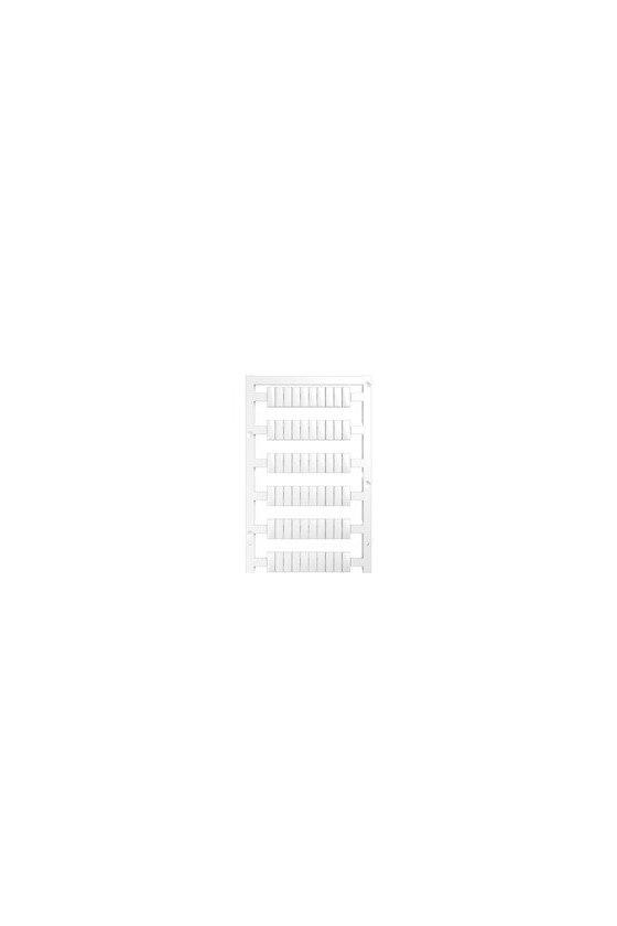 1927530000 WS, Terminal marker, 12 x 6 mm, Paso en mm (P): 6.00 Weidmueller, Allen-Bradley, blanco, WS 12/6 PLUS MC NEUTRAL