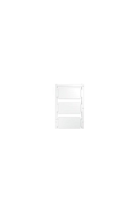 1934390000 ClipCard, Señalizadores de dispositivos, 30 x 60 mm, blanco, CC 30/60 K MC NEUTRAL WS