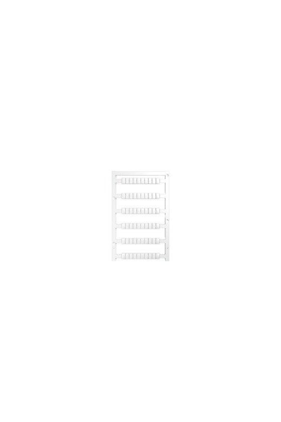 1951870000 WS, Terminal marker, 8 x 5 mm, Paso en mm (P): 5.00 Weidmueller, Allen-Bradley, blanco, WS 8/5 PLUS MC NEUTRAL