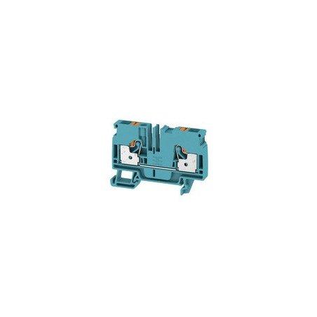 1991790000 Borne de paso, PUSH IN, 6 mm², 800 V, 41 A, azul, A2C 6 BL