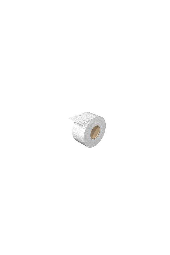 2006050000 WM, Señalizadores para cables y conductores, 3.5 - 5 mm, 32 x 6.4 mm, blanco, WM 2/21 3.5-5.0 MM WS