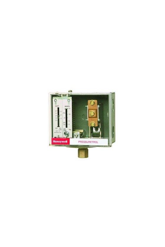 L404V1095  controladores pressuretrol, límite de aceite, reciclado automático, 5 a 50 psi