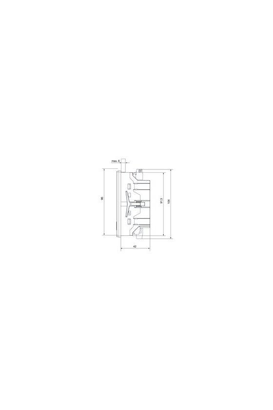 2500890000 Tensión de alimentación : 230 V, ENERGY METER 700-PN-230