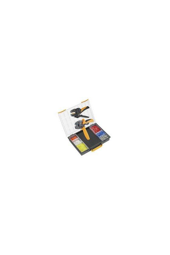 9028680000 Surtido Herramienta para prensar, Herramienta para prensar: PZ 6 Roto L, CRIMP-SET PZ 6 ROTO