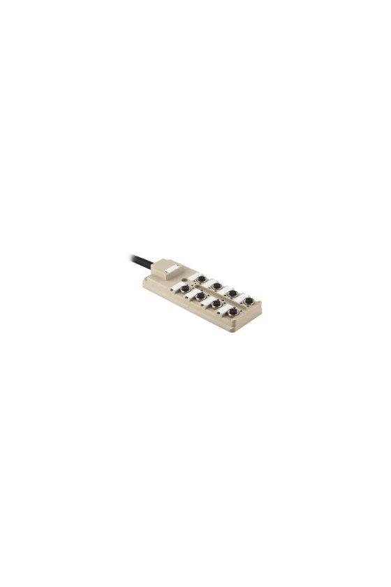 9457590000 Distribuidor pasivo para sensores y actuadores, M12, Versión de cable fijo, 5 m, Sí, SAI-8-F 5P 5M 0.5/1.0U