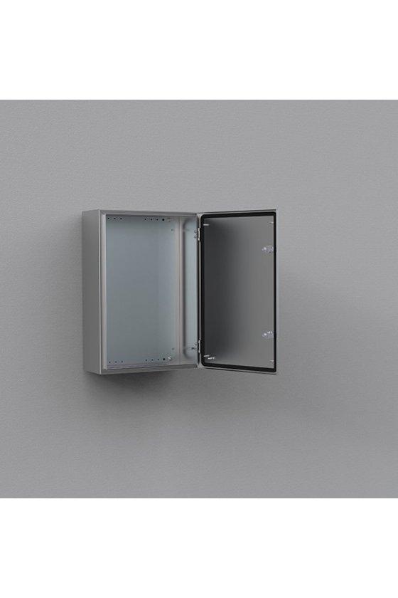 ASR0403021 gabinete fijación mural de acero inoxidable aisi-304 400x300x210mm