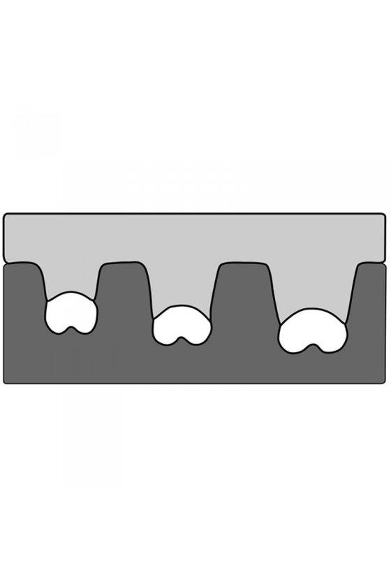 210762/E  matrices para pinza de engaste punteras 0.25-6mm²