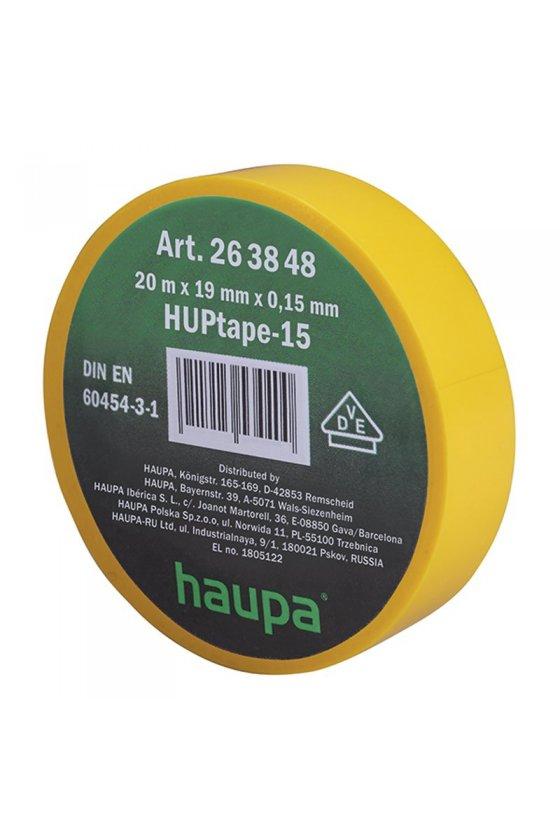 263848   cinta de aislar 19 mm x 20 m amarillo