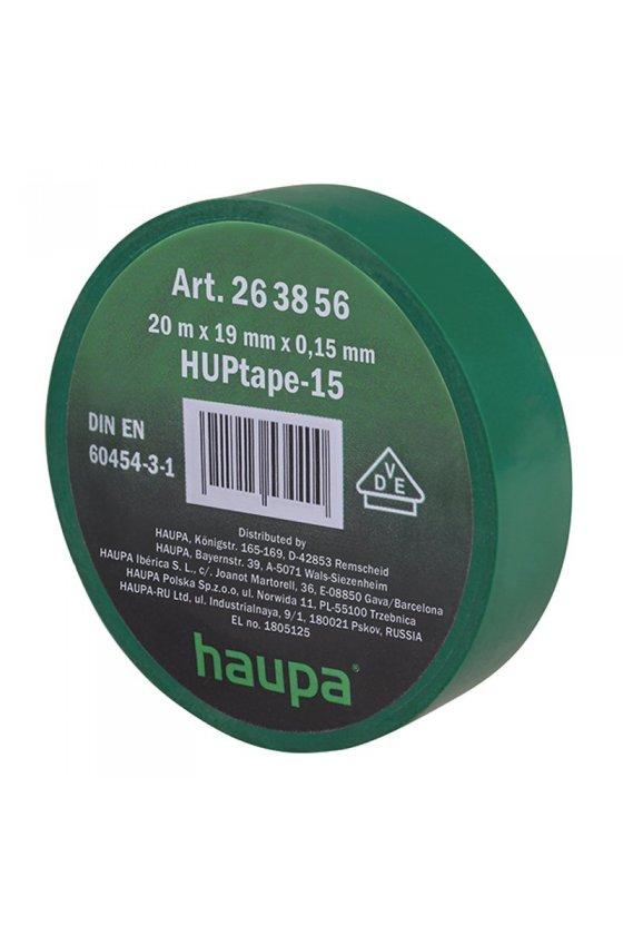 263856  cinta de aislar 19 mm x 20 m  verde