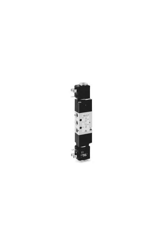 338D-015-02 ELECTROVALVULA 3/2 N.C. BIESTABLE 1/8