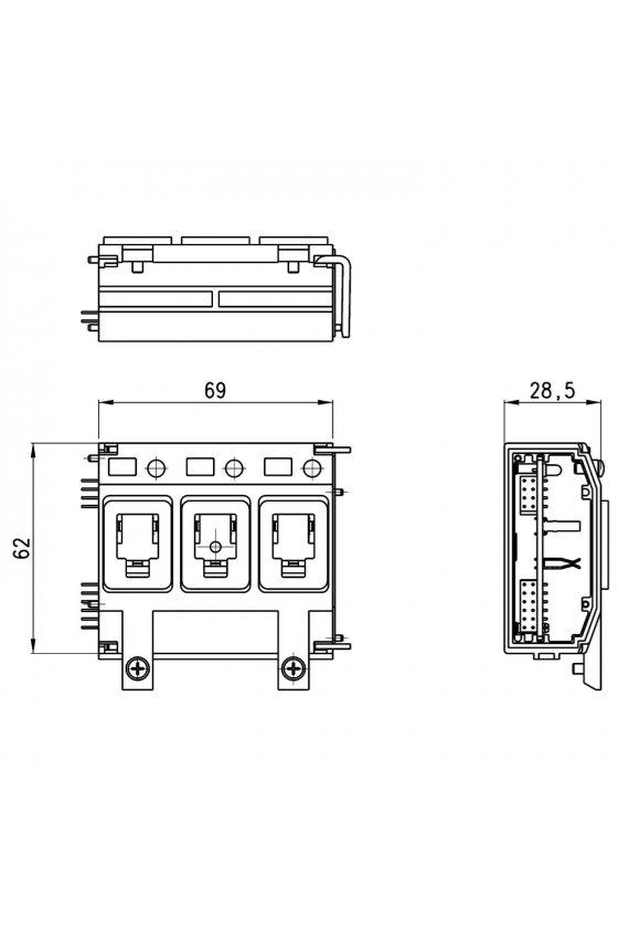 3PAC-M-XI3 MODULO ELECTRICO 3 POSICIONE