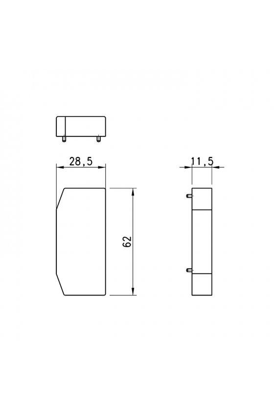 3PAC-R-TP1 TAPON PARA MODULO ELECTRICO