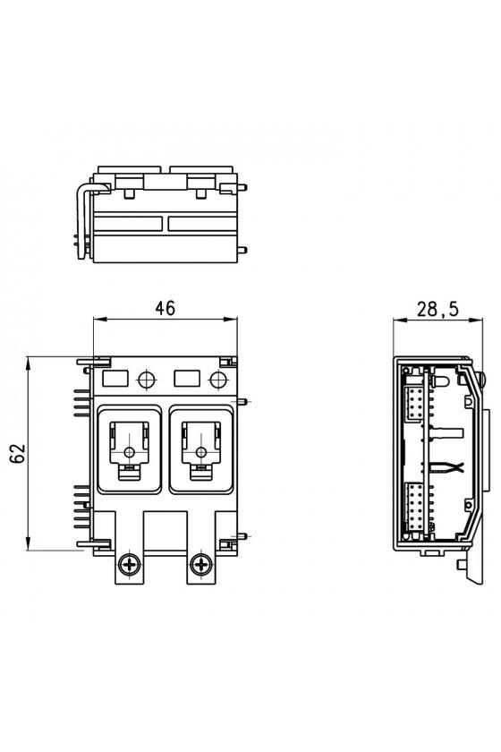 3PAC-R-XI2 MODULO ELECTRICO 2 POSICIONES