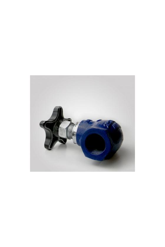 GA51034005 Válvula globo cms recta rosca. P/gas 32mm. Inox.