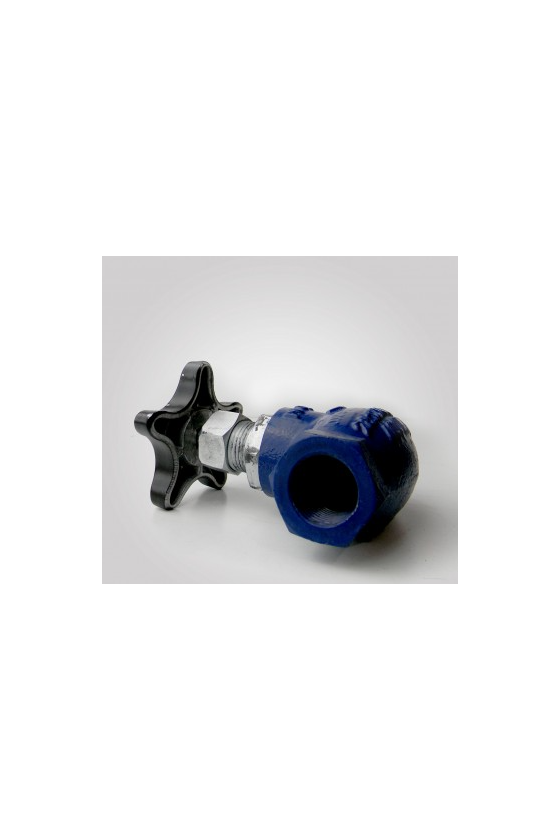 GA51034006 Válvula globo cms recta rosca. P/gas 38mm. Inox.