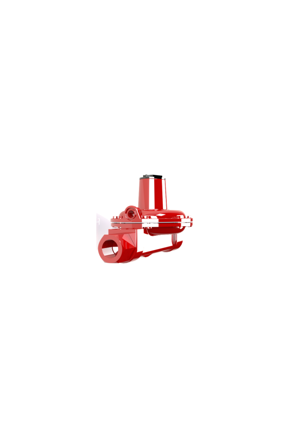 GA51244230 Regulador lobo cms 13 x 25mm glp a.p. rojo
