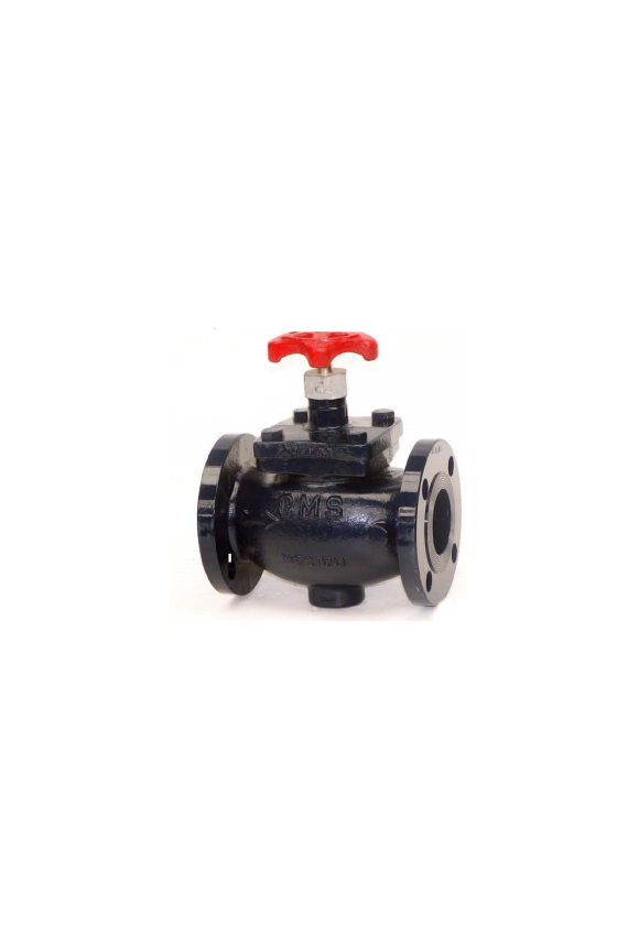GA51044018 Válvula globo cms asa-150 p/gas 51mm. S/b inox.