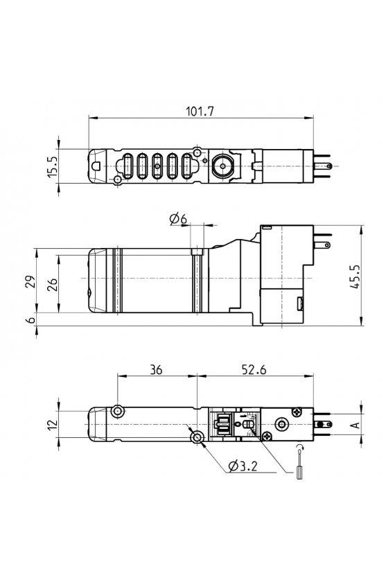 EN530-16-P13 ELECTROVALVULA, T-16,5/2  MONOEST