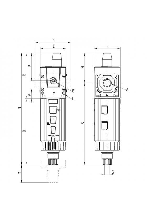 MD1-FC001 FILTRO ,0.01 MICRA, S.CONEX. IND.VISUAL
