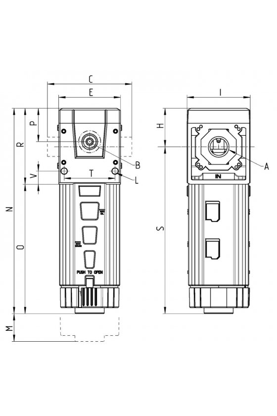 MD1-FCA0 FILTRO , CARBON ACTIVADO, SIN
