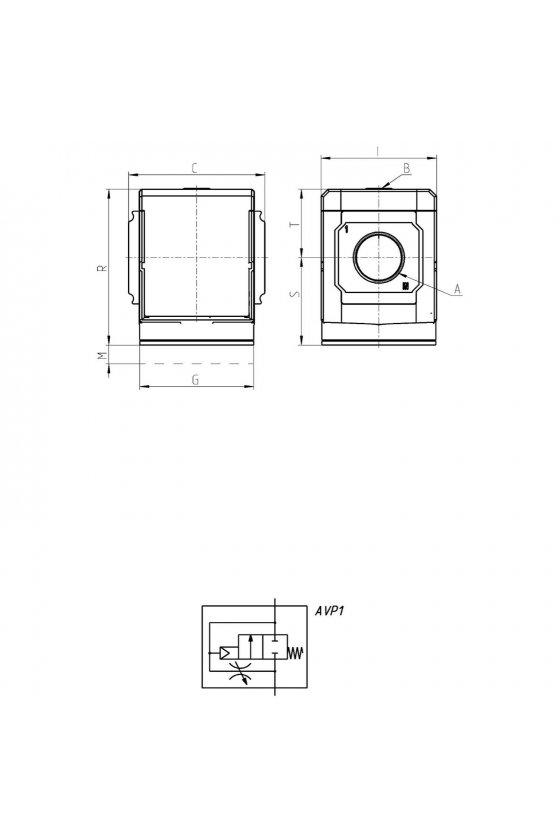 MX2-1/2-AV VALVULA DE APERTURA PROGRESIVA